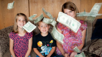 A Great Way To Teach Kids About Money (…That Helps Your Family Budget Together)